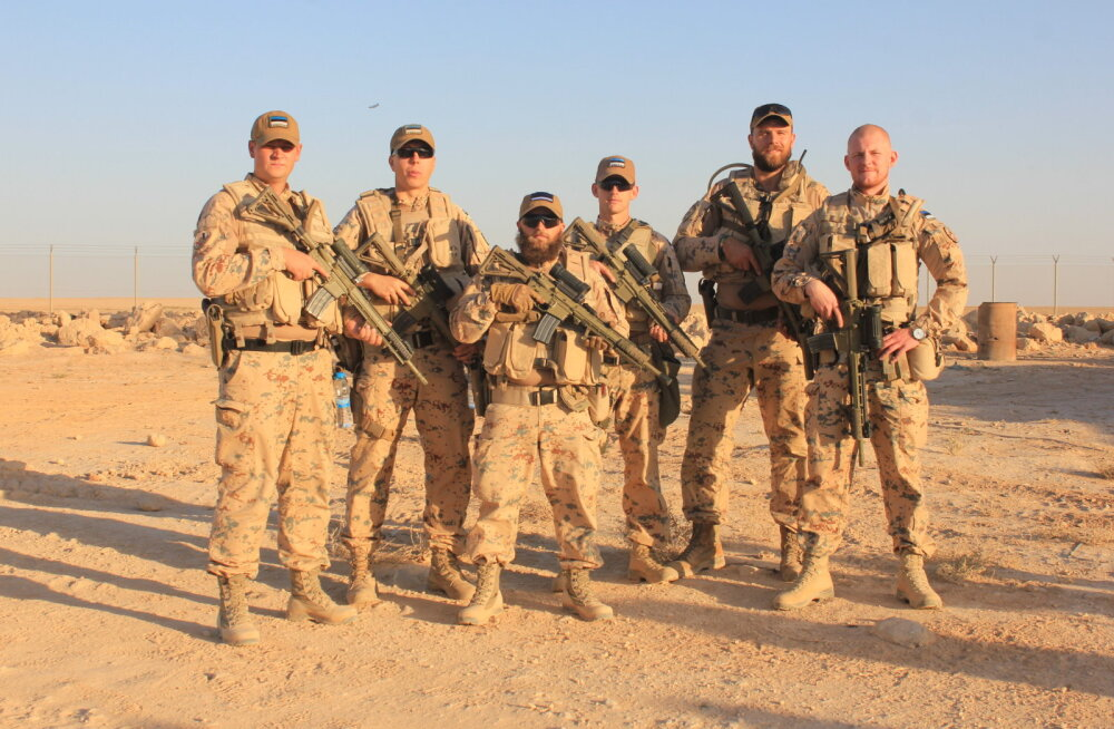 Ajakirjast Sõdur: eestlased õpetavad Iraagi sõdureid ISIS-ega võitlema