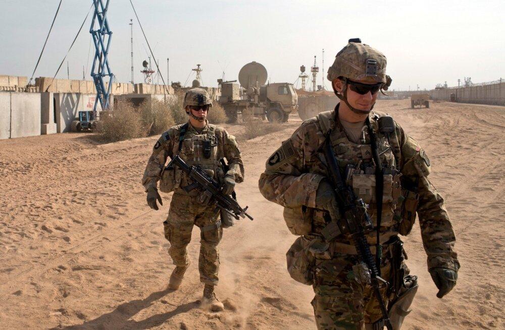 USA sõdurid Iraagis. Pentagon kavatseb nende arvu taas suurendada.