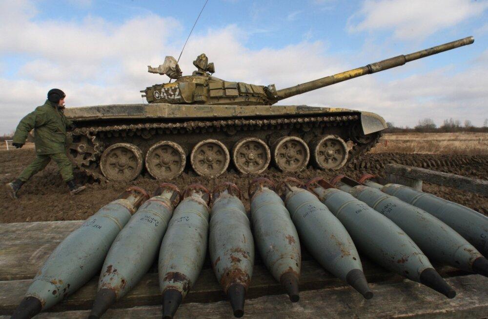 Nii varustab Venemaa Ukraina mässulisi: nimekiri relvaarsenalist