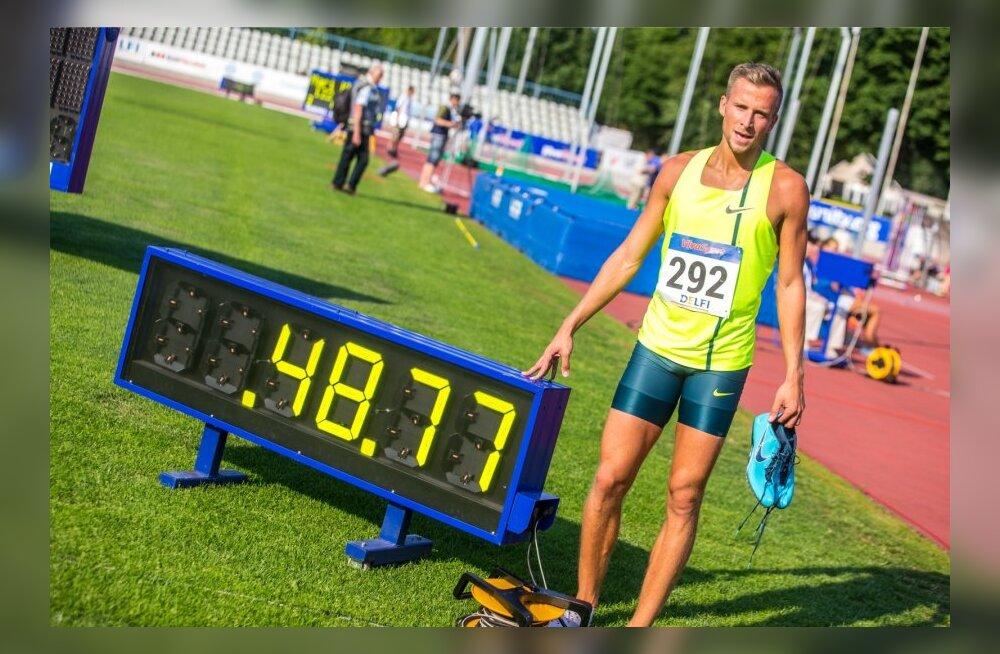 Eesti Kergejõustiku meistrivõistluste II päev