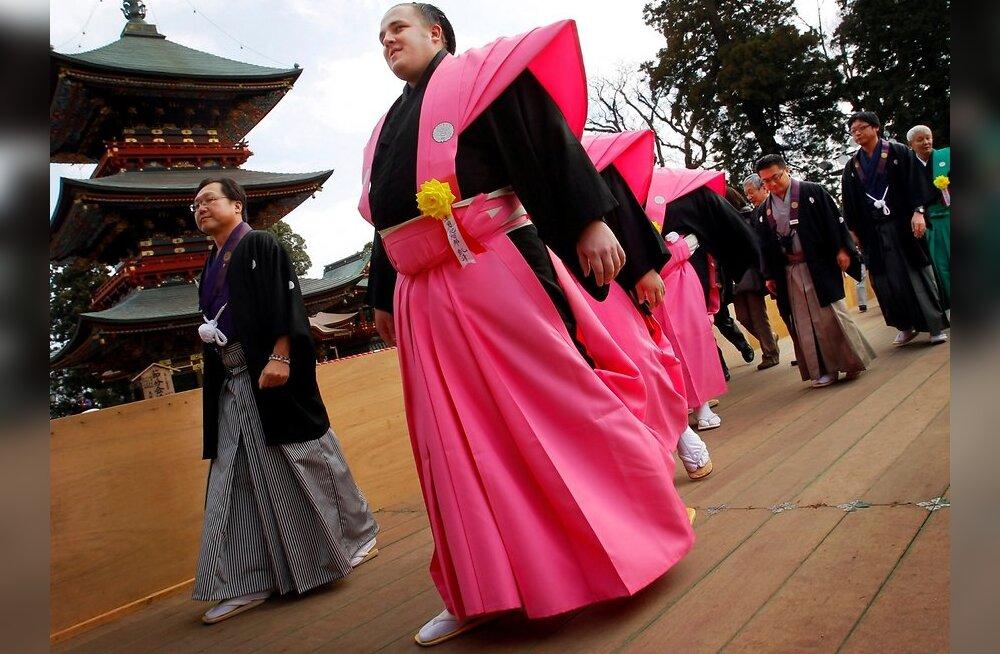 HUMOORIKAS VIDEO: Baruto pannakse Jaapani telešõus proovile!