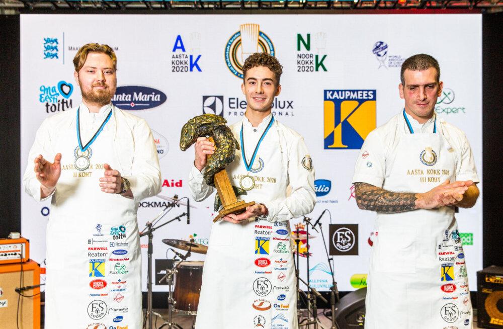 Определился лучший шеф-повар Эстонии в этом году