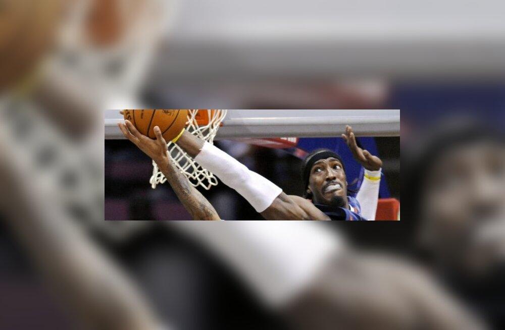 Charlotte Bobcatsi Gerald Wallace