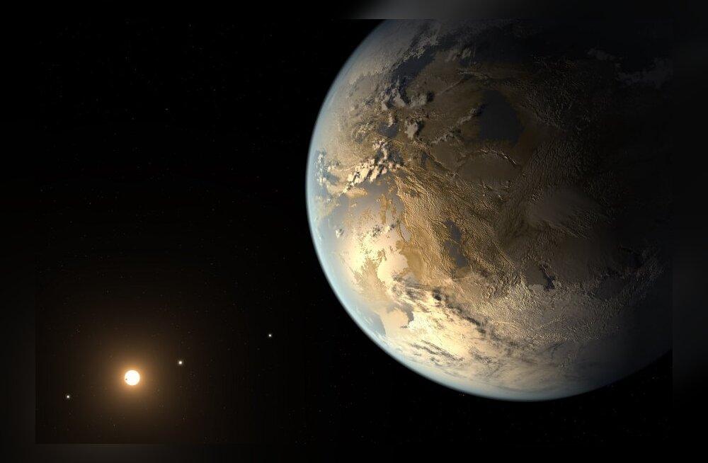 Teine Maa? NASA avastas Maa-suuruse planeedi, kus võib elamine võimalik olla