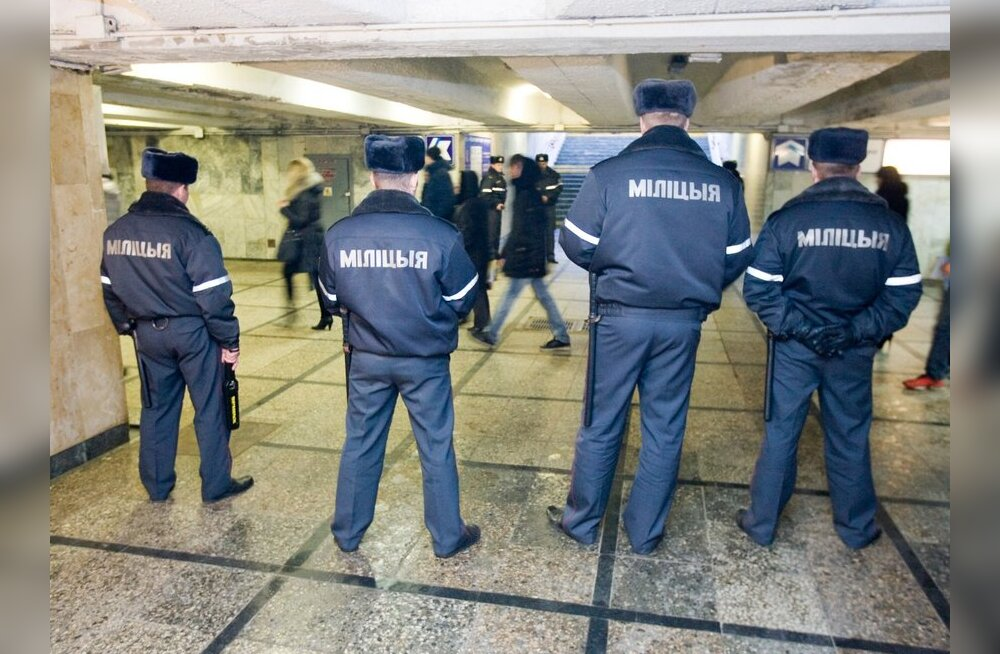 Valgevene võimud teatasid kolme terroriakti ennetamisest