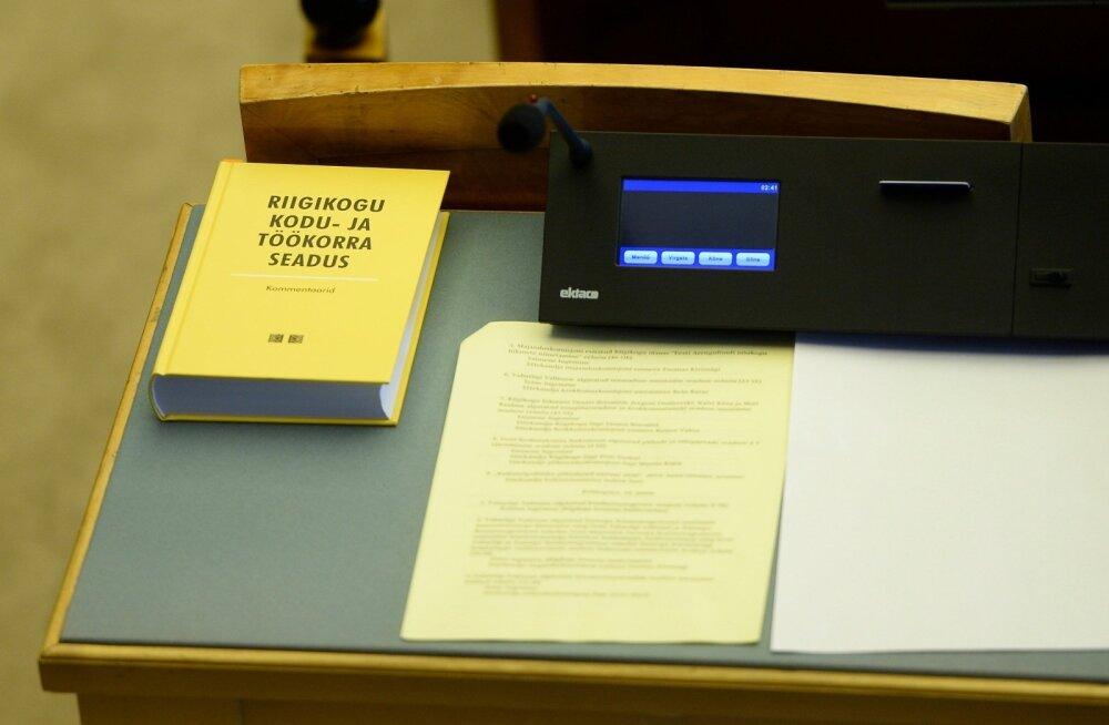 Riigikogu võttis eelmisel aastal vastu 127 õigusakti