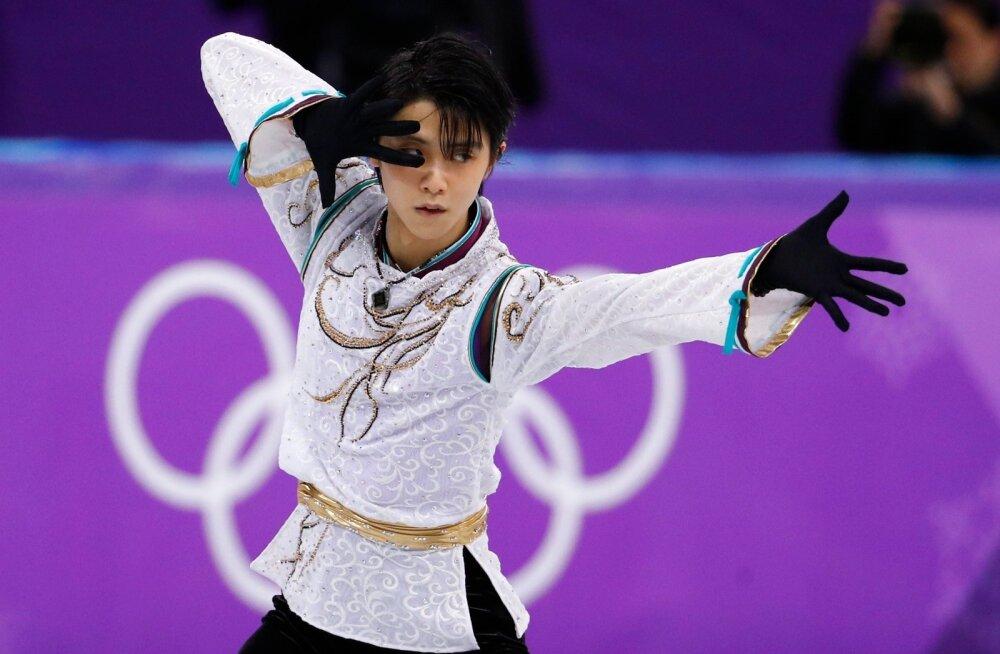 Kahekordne olümpiavõitja Yuzuru Hanyu