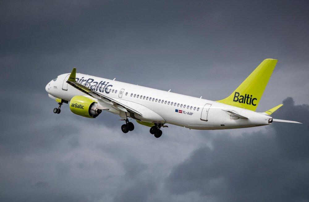 Air Baltic.