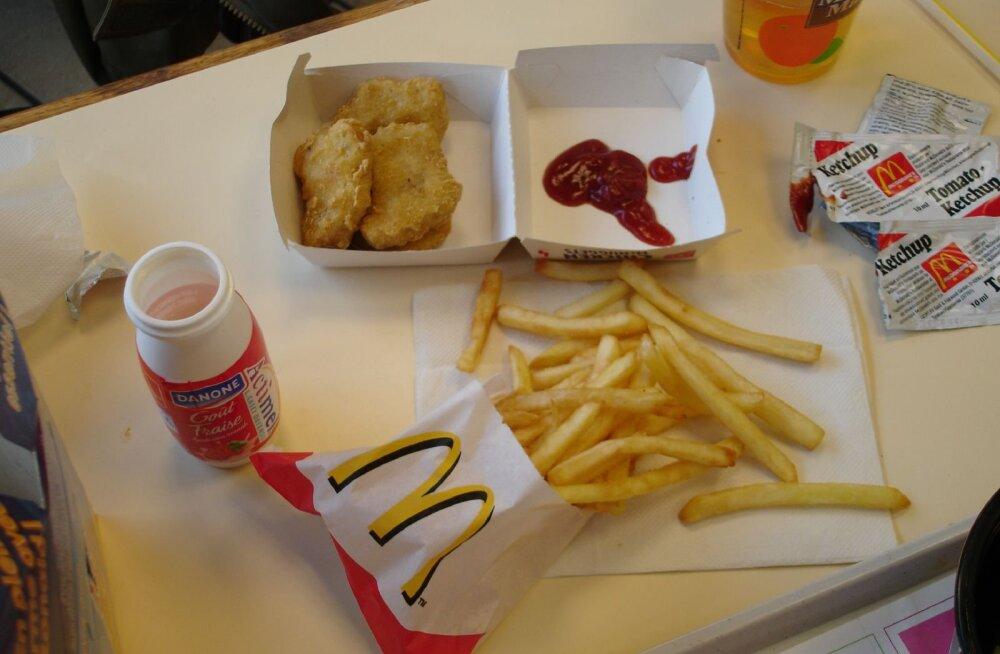 Huvitav nipp McDonald'sis alati võimalikult värske toidu saamiseks