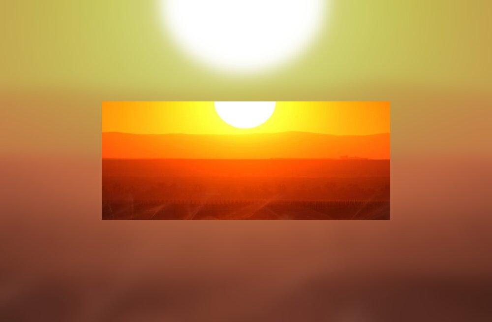 Päikese aktiivsus ei põhjusta kliimasoojenemist