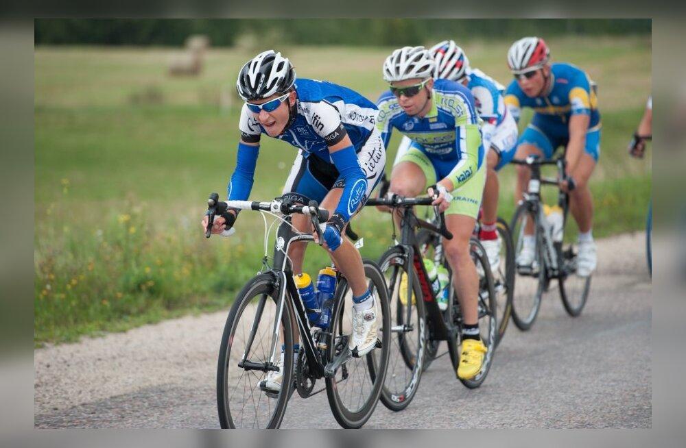 Balti Keti velotuur, Peeter Tarvis gruppi vedamas