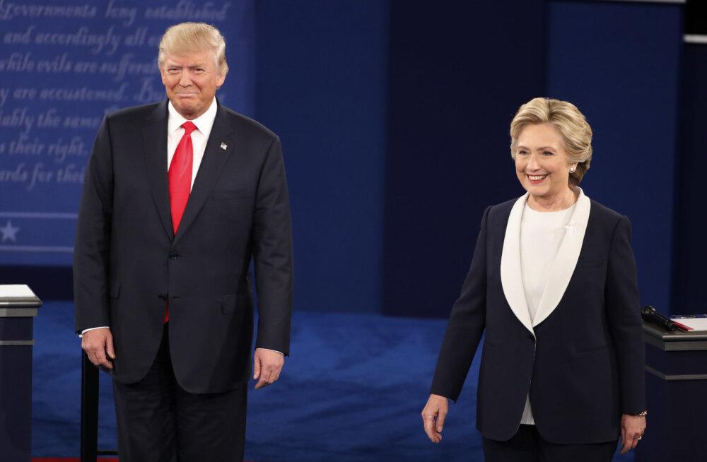 FORTE TEST: kumb on vanem, Trump või Clinton? See ja veel 19 küsimust tänases USA presidendiviktoriinis