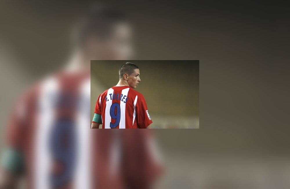 Madridi Atletico ründaja Fernando Torres
