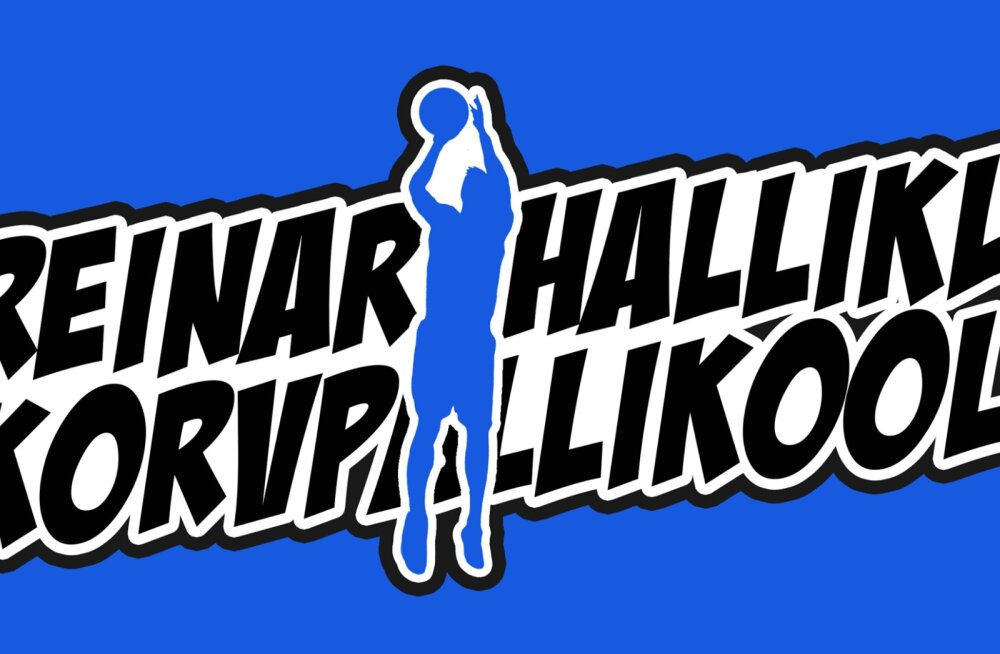 Reinar Halliku korvpallikooli logo