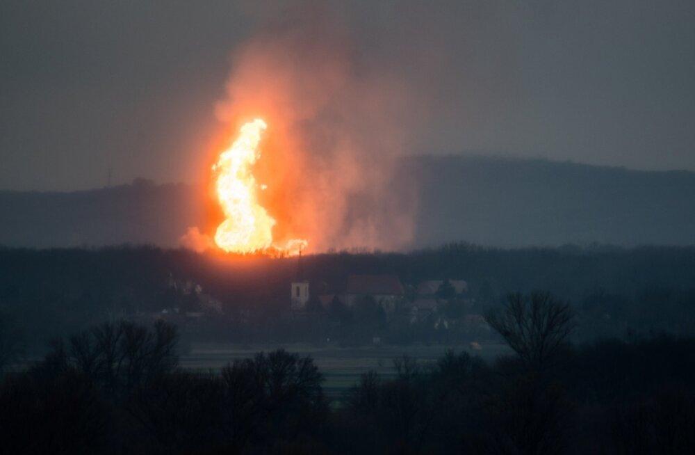 Gazprom: ärge kasutage Austria gaasiplahvatust ettekäändena!