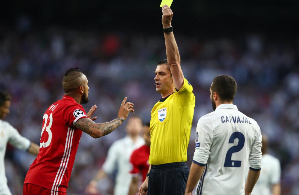 Bayerni mängijad tungisid Kassai riietusruumi, politsei pidi sekkuma