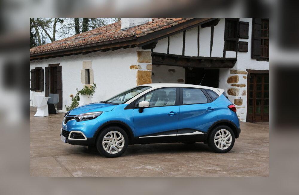 Renault Captur - nägus ja nutikas, aga räägime rauast ka