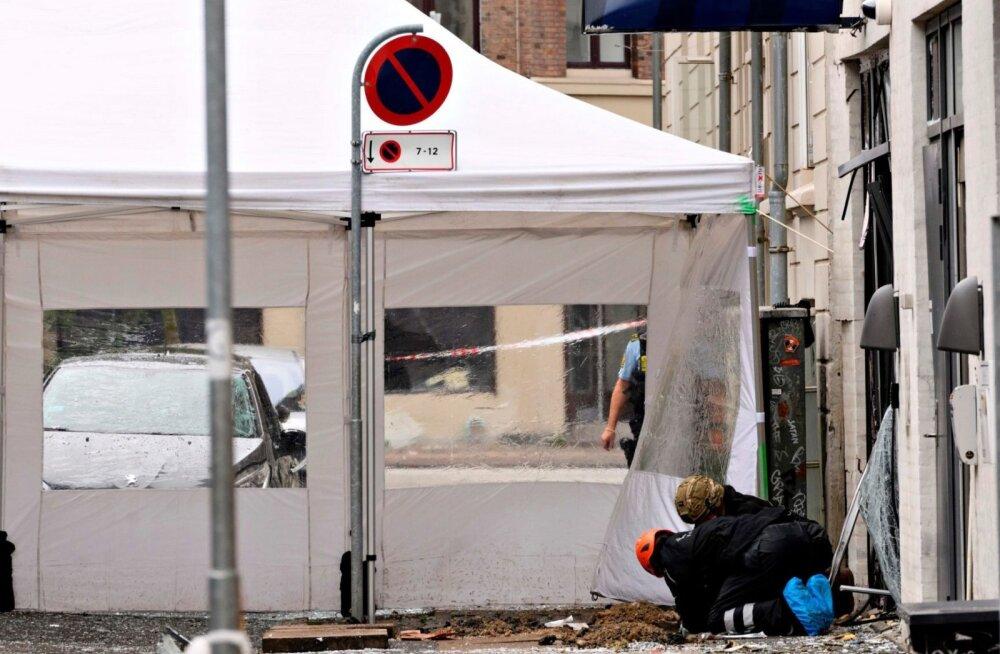 Taani pealinna raputas teine plahvatus sel nädalal, sedapuhku politseijaoskonna ees