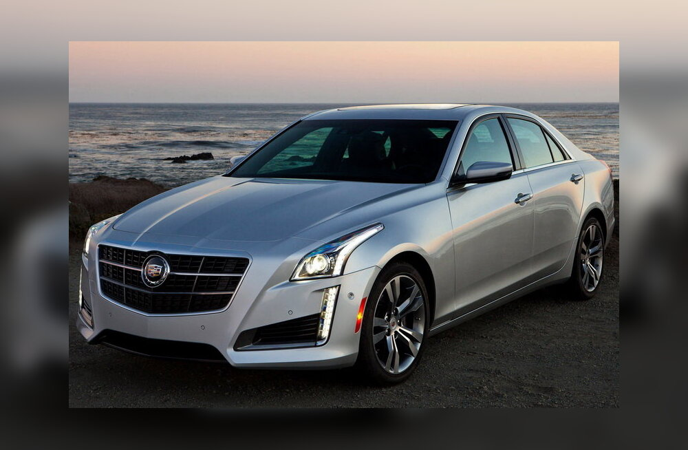 Proovisõit: Cadillac CTS – killuke ameerikalikku luksust!