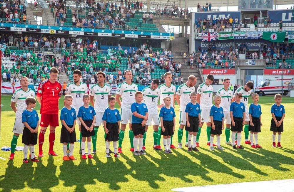 Põhja-Iirimaa jalgpallikoondis Tallinnas