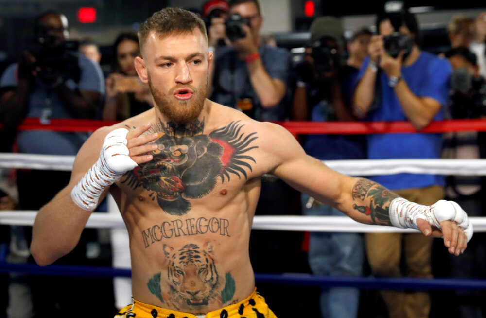 McGregor: kergemad kindad tähendavad Mayweatherile kiiret lõppu