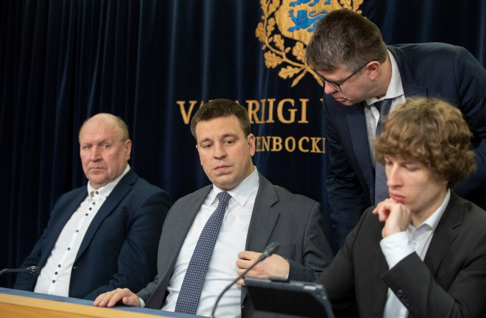 Valitsuse pressikonverents 19.03.2020