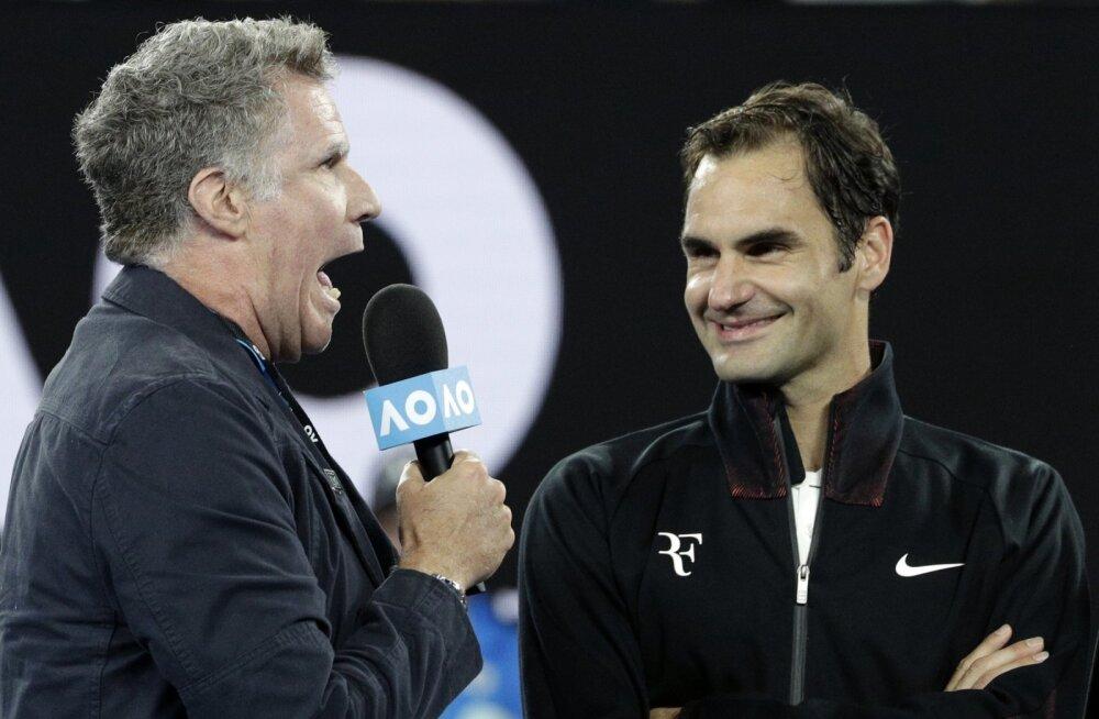 VIDEO | Roger Federeri ootas avaringi võidu järel väljakul intervjuud andes vaimukas üllatus