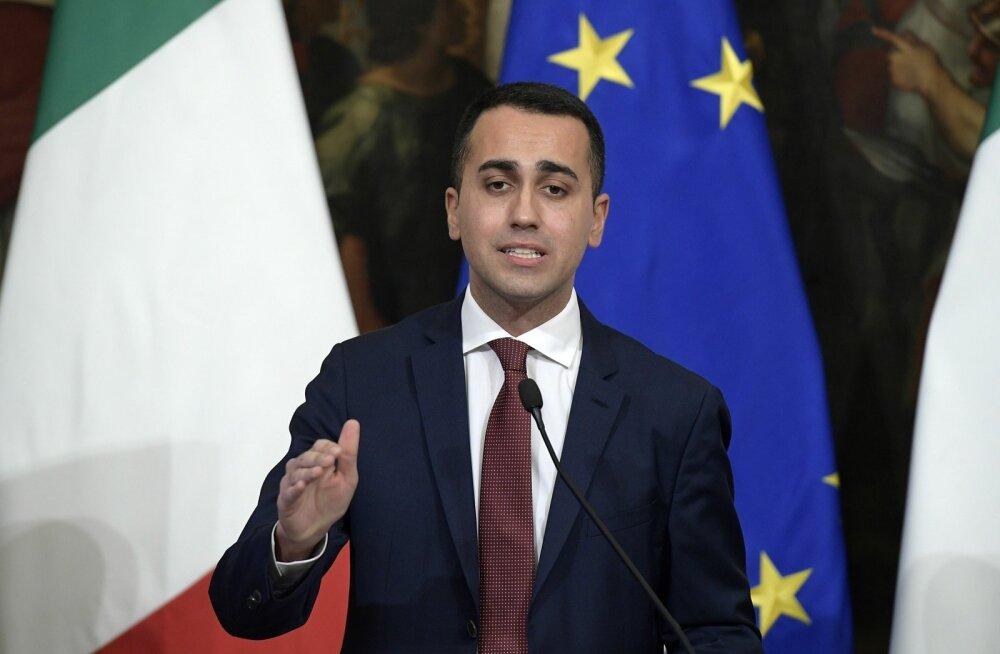 Itaalia asepeaminister Di Maio süüdistas Prantsusmaad Aafrika migratsiooni õhutamises, Pariis kutsus välja Itaalia saadiku
