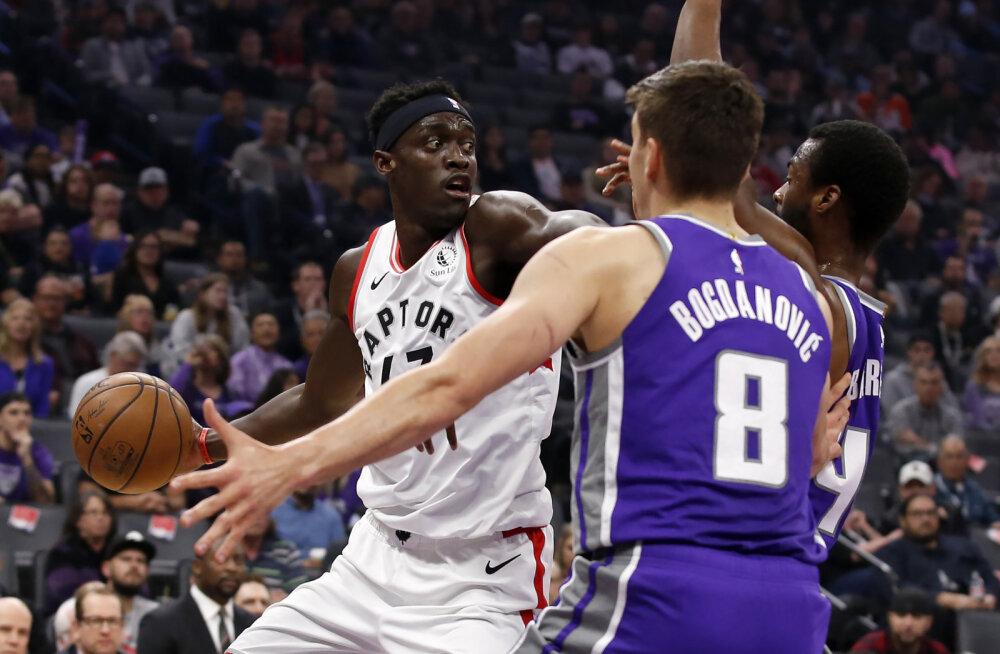 Raptors tõmbas Jazzil tuure maha, Nuggets pikendas Bucksi kaotusteseeriat