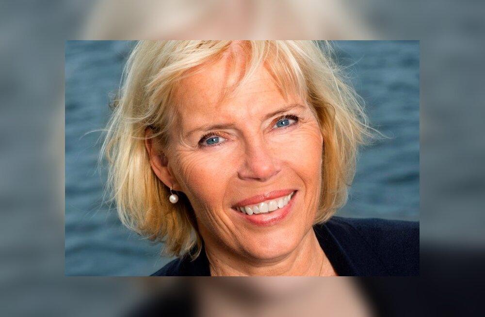Volvo Trucks globaalse sponsorluse direktor Christina Magnusson.