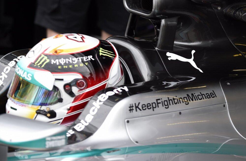 Lewis Hamiltoni vormel