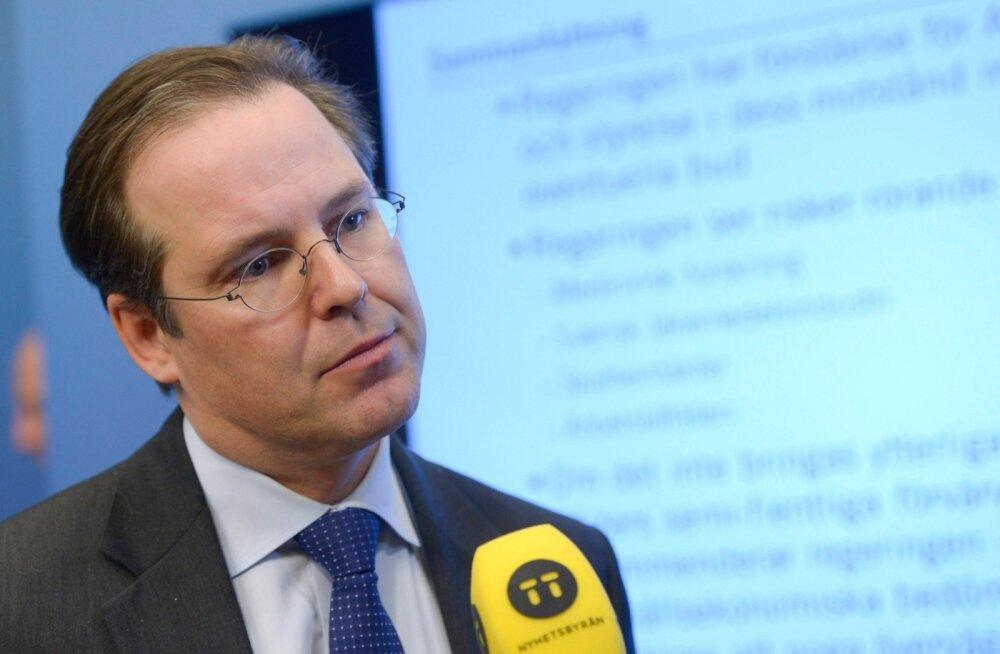 Rootsi endine rahandusminister Anders Borg näitas peol suguelundit ja sõimas naisi