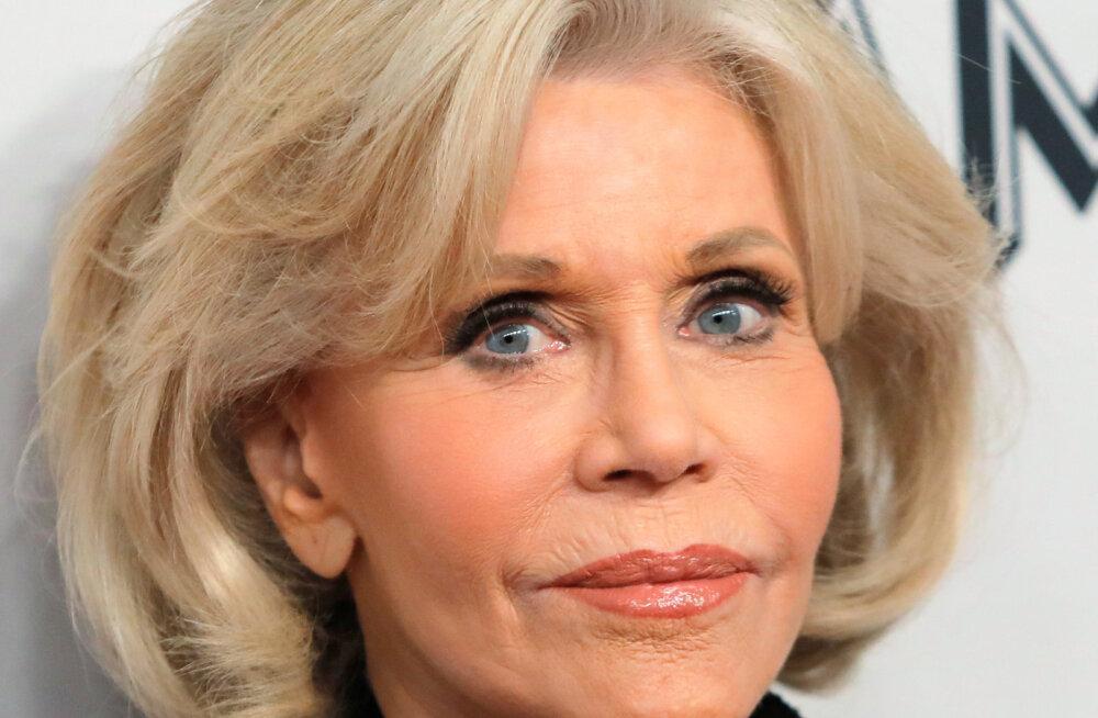 VIDEO | Ostuhull näitleja Jane Fonda tegi šokeerivalt poodlemisega lõpparve: see on viimane riideese, mille ma kunagi ostan!