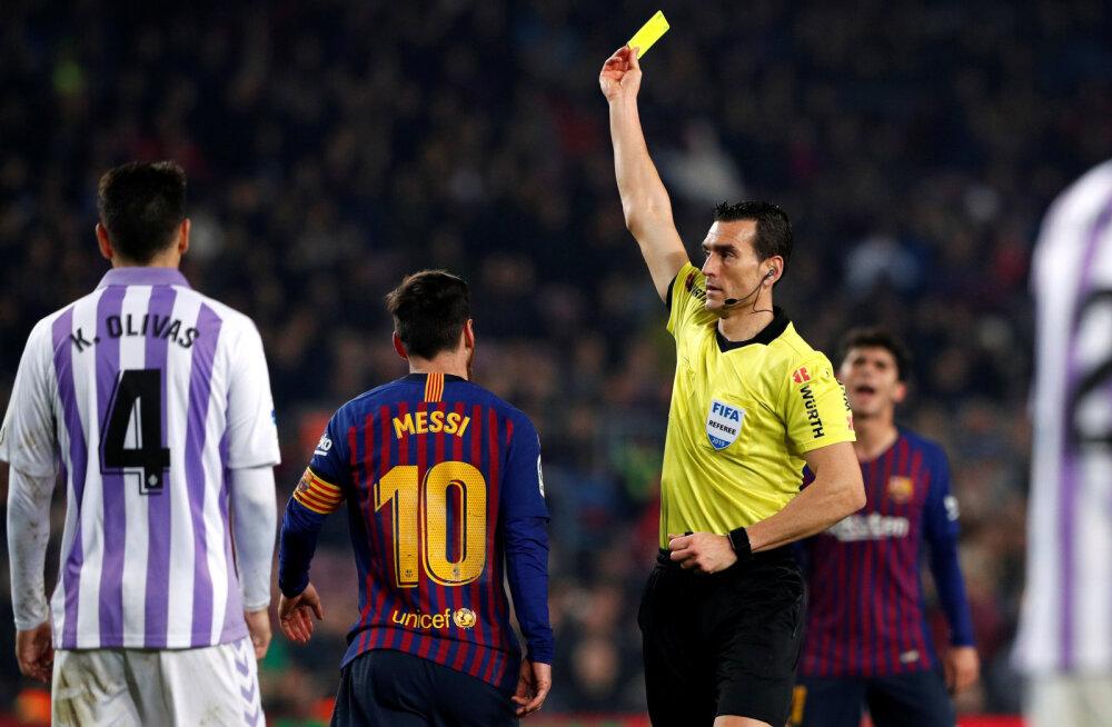 Eesti koondise mängu teenindab Barcelona ja Madridi Reali mänge vilistanud kohtunik