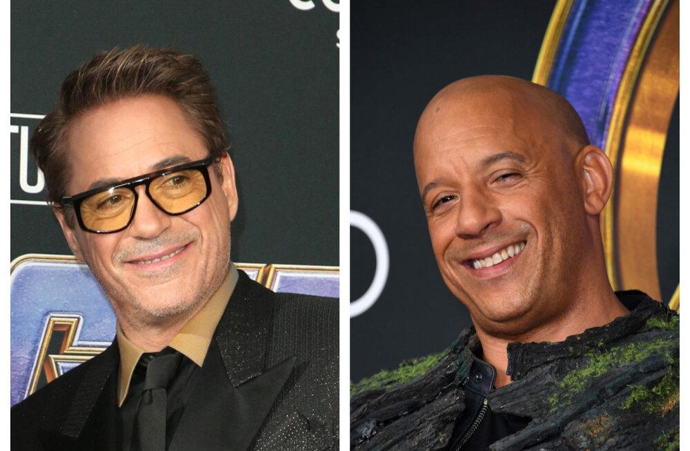 Milline armastuskiri! Vin Diesel tegi sotsiaalmeedias Robert Downey Jr-ile eriti südamliku tundeavalduse