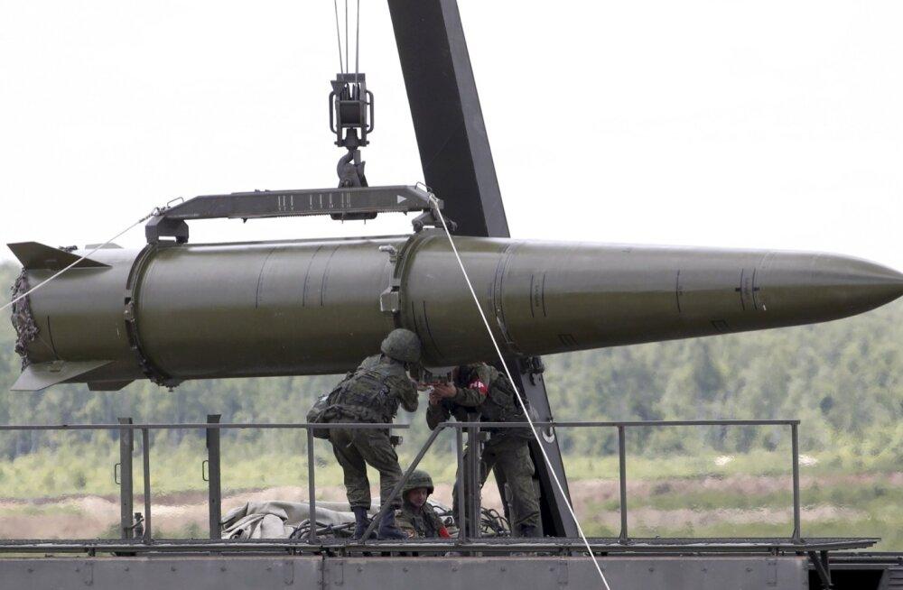Vedomosti: Venemaa sõjalisi kulutusi kärbitakse 2016. aastal viis protsenti