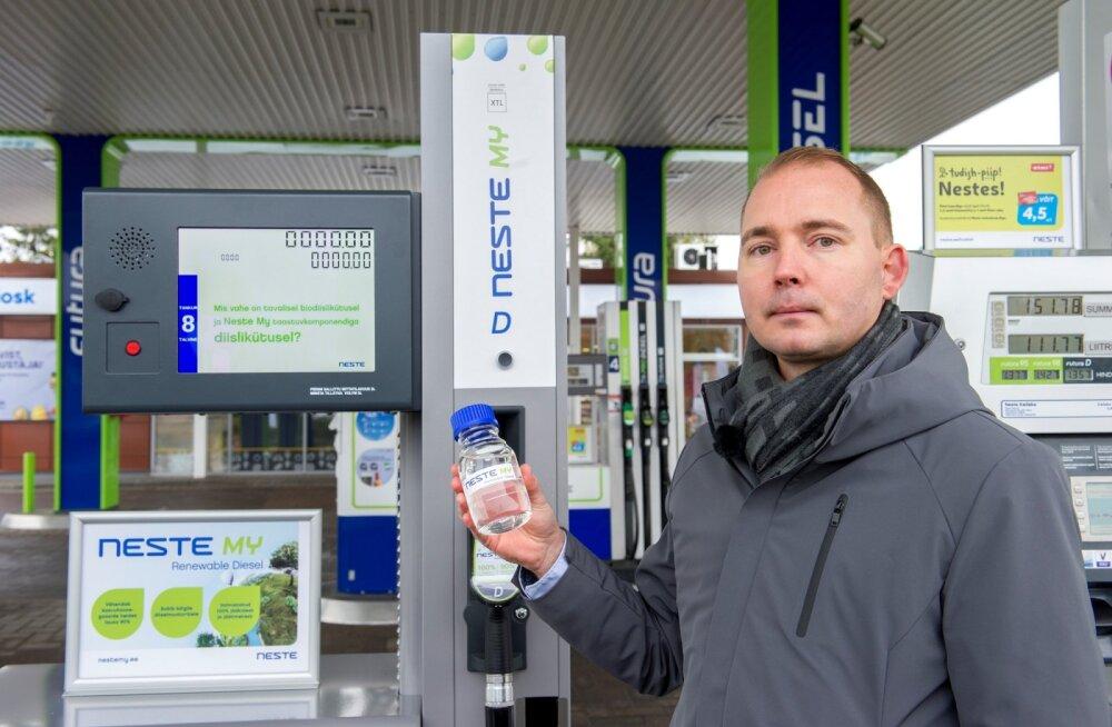 Neste расширяет продажу дизельного топлива из возобновляемого сырья в Таллинне