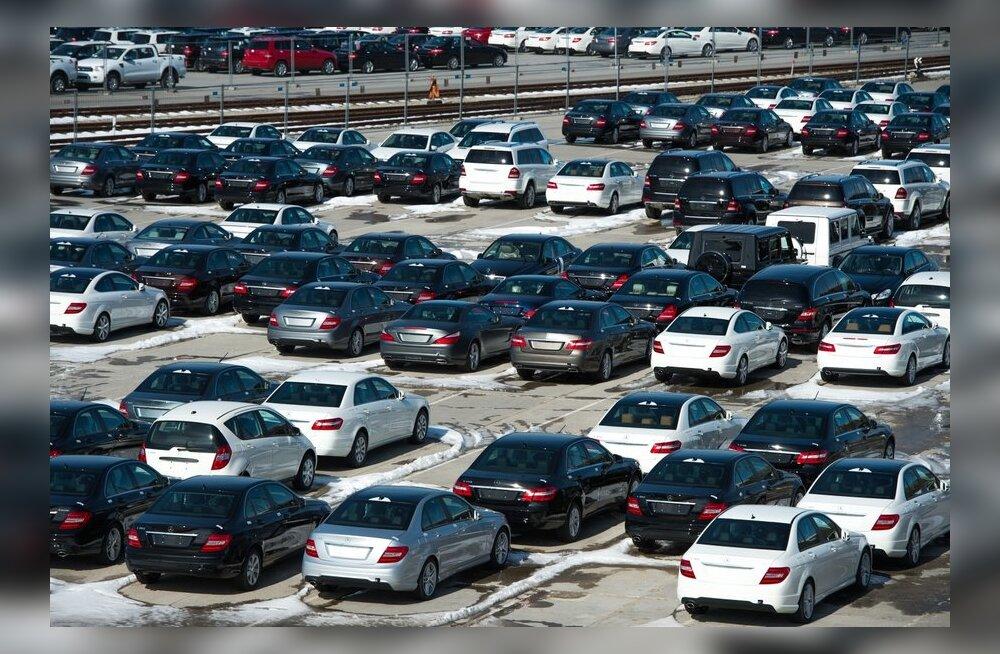 Swedbank: жители Эстонии начали активно покупать новые автомобили