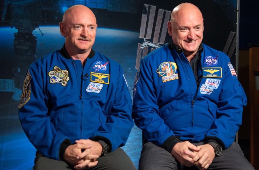 Mida teeb pikalt kosmoses viibimine inimkehaga? NASA uuris kaksikutest astronaute ja selgitas välja