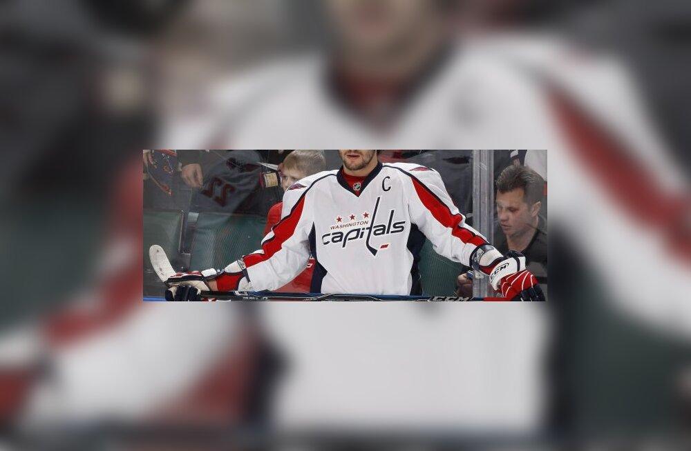 Alex Ovetškin, Capitals, NHL