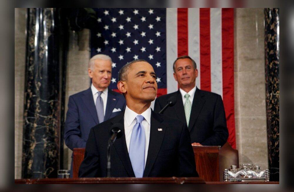 Obama hoiatas kõnes olukorrast riigis lõhenenud kongressi, et hakkab tegutsema üksi