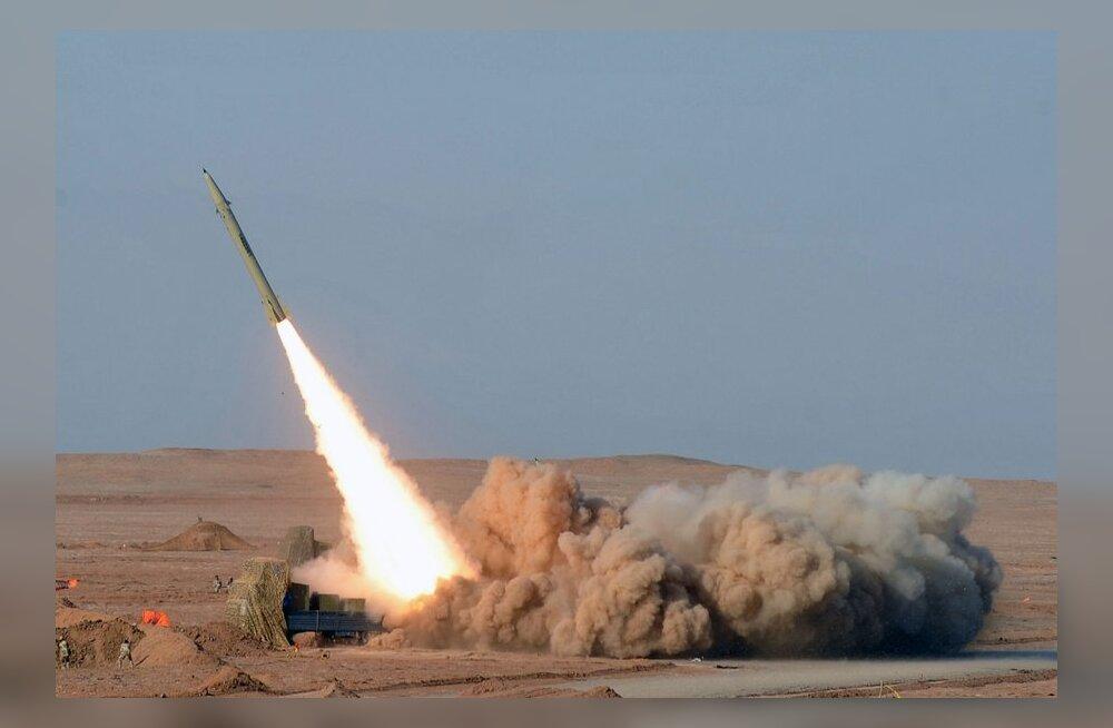 VIDEO: Iraan katsetas tuliuut ülitäpset ballistilist raketti Vallutaja