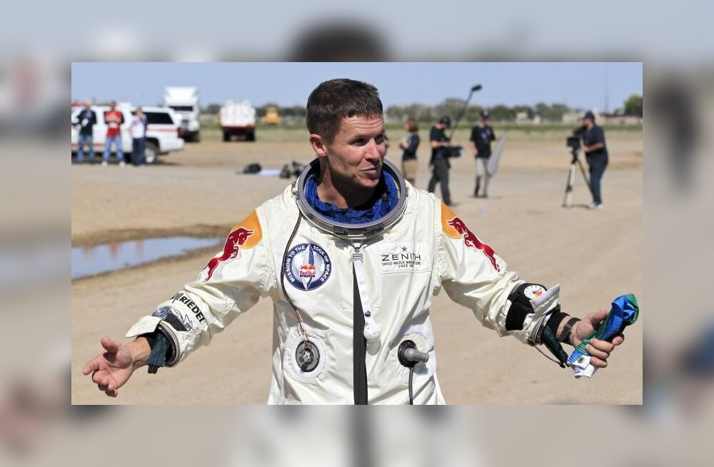 VIDEO: Vaata, kuidas paistis peadpööritav hüpe Felix Baumgartneri enda jaoks!