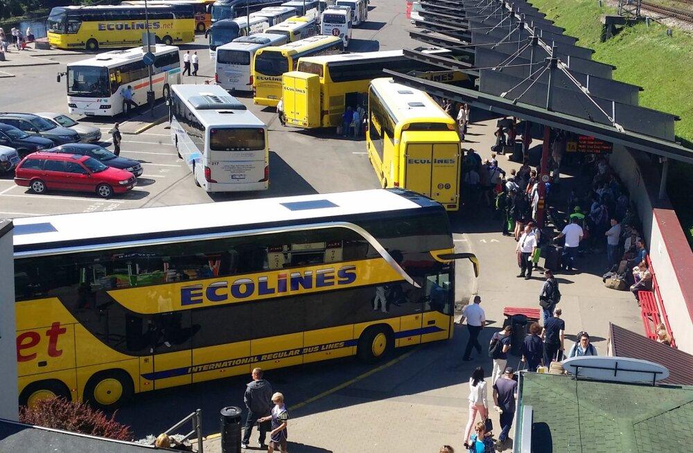 Ecolines taastab rahvusvahelised reisid Balti riikide vahel alates 29. maist 2020