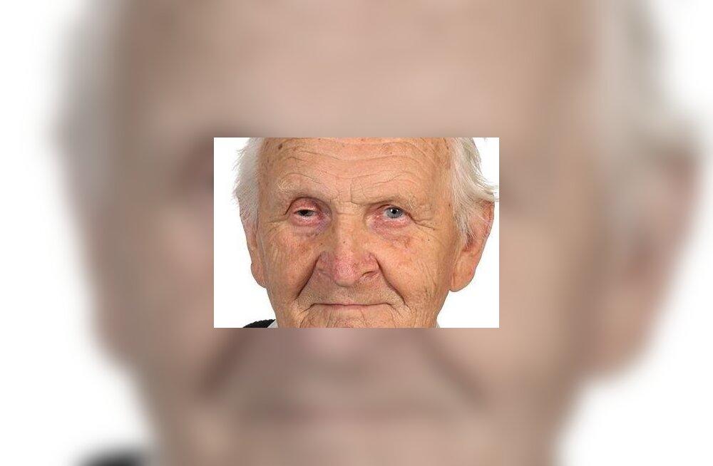 FOTO | Politsei palub abi 89-aastase Waldeko asukoha kindlakstegemisel