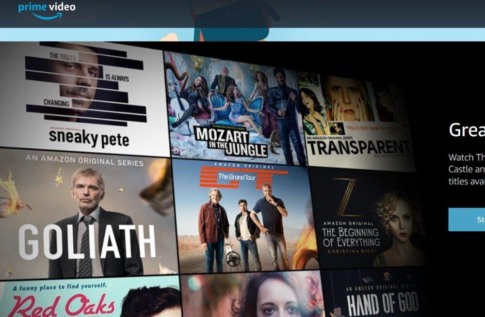 FOTOD | Netflixi tuntumaid rivaale, videoteenus Amazon Prime Video lisandus Elisa Elamuse valikusse