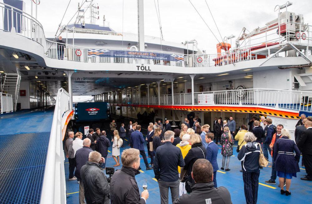 Первое в Эстонии гибридное судно Tõll приступило к обслуживанию пассажиров