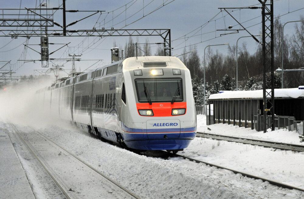 Поезда битком: в Финляндию на новогодние праздники приедет более 60 000 российских туристов