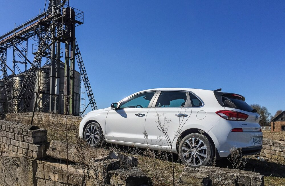 Kolmanda põlvkonna Hyundai i30: kontorirottide linnajooksu vaimne liider
