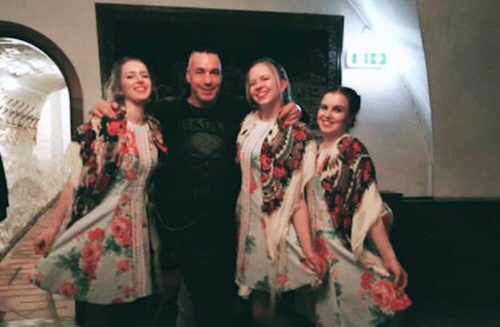 FOTOD | Vau-vau! Rammsteini Till Lindemann patseeris täna Tallinnas